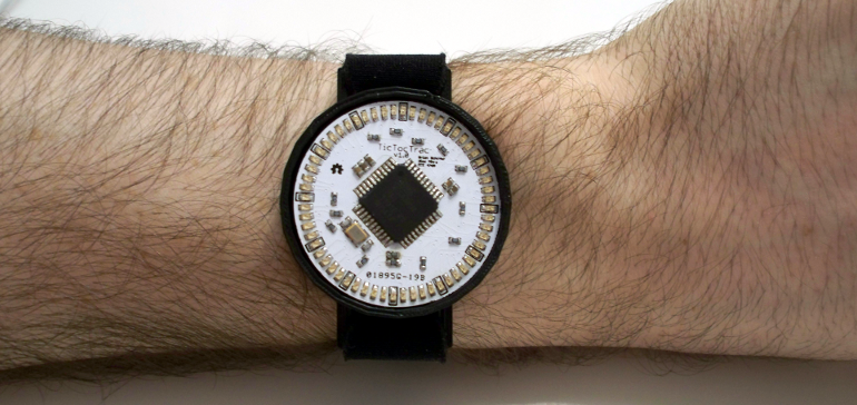 TicTocTrac Wristwatch