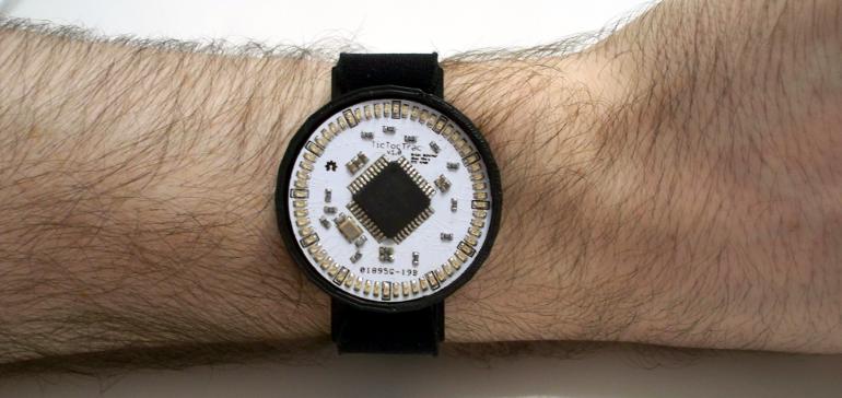 TicTocTrac Wristwatch